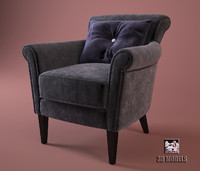 3ds max eichholtz chair modern
