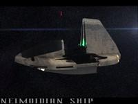 neimoidian ship 3d max