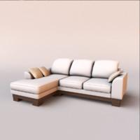 3d obj sofa