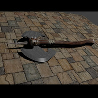 blender medievil axe