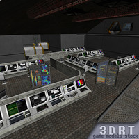 3d model science labs level 1