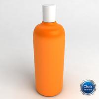 3d model of shampoo