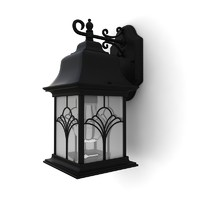 3ds max outdoor wall lantern 02