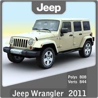 maya 2011 jeep wrangler