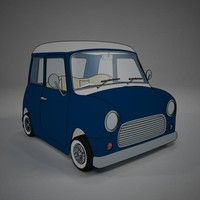 cartoon minicar vray toon