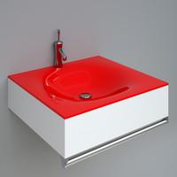 3d 2r050 wash-basin