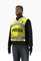Low Poly Policeman