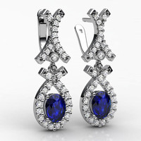 earrings gj2 3ds