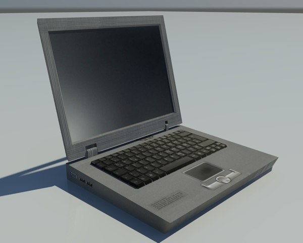 free old notebook 3d model - Low poly Old Notebook... by janiashvili