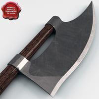 medieval axe v1 3ds