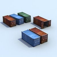 ISO Shipping Containers x3