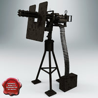 3ds navy minigun m134