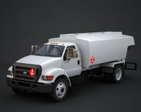 3d tanker fueltruck model