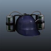 3d beer helmet