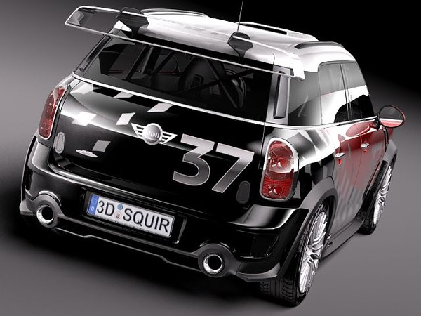 3d model of mini morris wrc rally - Mini WRC 2011-2013... by squir