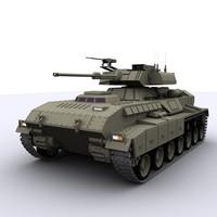 tank military war 3d max