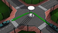 Sample 3D Illustration of Traffic Rule