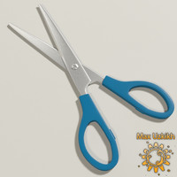 3d model of scissors