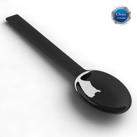3d model teaspoon spoon tea