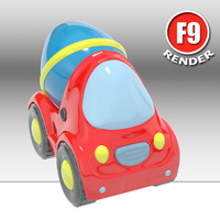 Toy Car Concrete Mixer