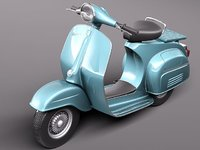 vespa 150 super 1965 3ds