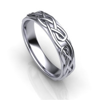 3d model stl wedding band ornament