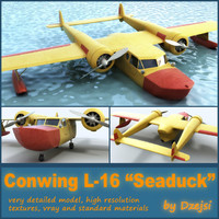 3d conwing l-16 sea duck