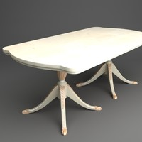 classical table obj