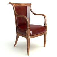 Photorealistic Antique Armchair 2