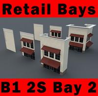 building b1 2s 2-story 3d model