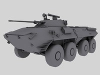 BTR-90 Russian APC Game Model
