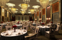 3d 3ds hotel ballroom
