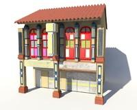 shophouse obj