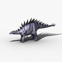 3d tuojiangosaurus model