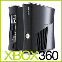 xbox 360 slim 250gb max