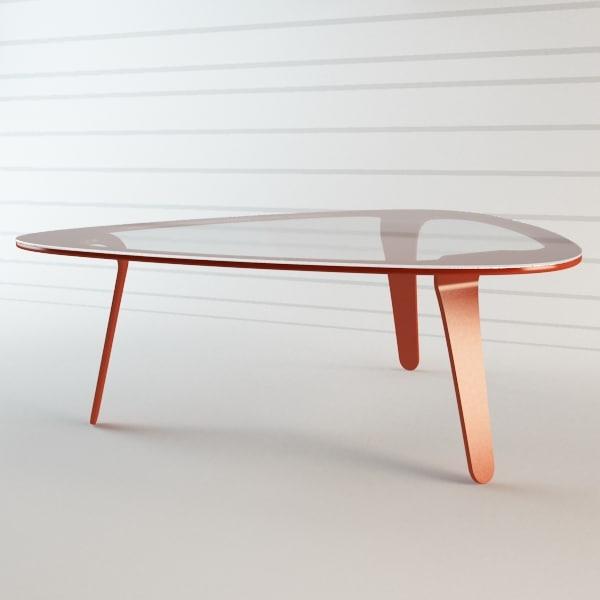 Clover Table by WertelOberfell