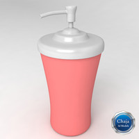 creme dispenser 3d dxf