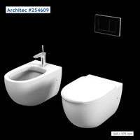 hansgrohe architec 254609 3d 3ds