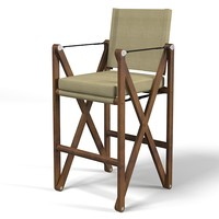 maclaren bar stool 3d model