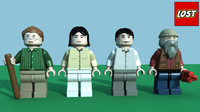 LEGO Lost Minifigure Pack 4