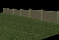 3d wall streets model