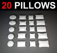 20 pillows