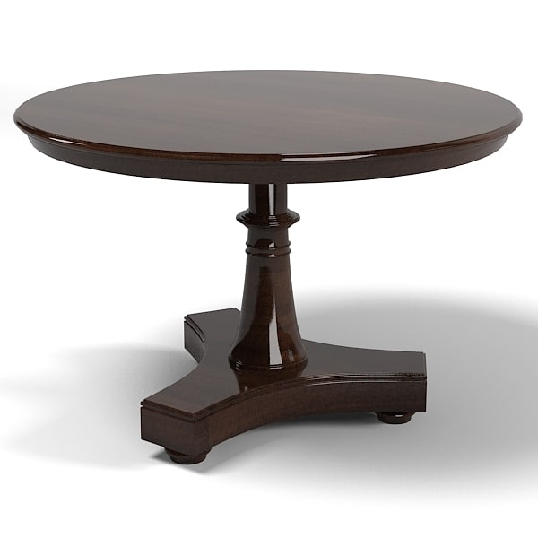 3d end table dining model : round20side20end20table20dining20big20traditional20classic20pedestaljpg6b85aca1 0c0f 44e0 b982 c386abc4cae2Large from www.turbosquid.com size 600 x 600 jpeg 20kB