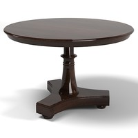 3d end table dining model