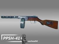 ppsh-41 submachine gun 3ds