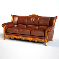 Photorealistic ArmChair and Sofa