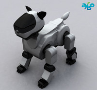 obj aibo dog