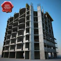 3d 3ds building construction v3
