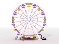 obj ferris wheel
