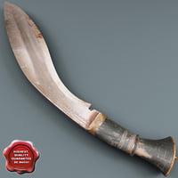 india sword kukri v2 max